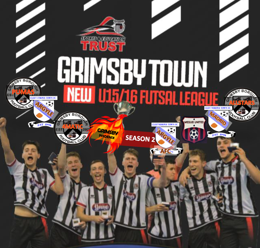 Season 2 of the Grimsby Town Sports and Education Trust U15 16 Futsal League  2019 played in partnership with Franklin College on Tuesday evenings. 196c54ad59e0f